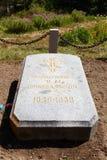 Karakol, Issyk Kul, Kyrgyzstan - August 12, 2016: The grave of t Royalty Free Stock Photo