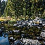 Karakol jeziora Zdjęcie Stock