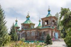 Karakol Kazachstan, Sierpień, - 23, 2016: Świętej trójcy ortodoks Zdjęcie Royalty Free