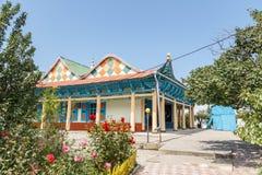 Karakol, Kazakhstan - August 23, 2016: Dungan mosque, Issyk Kul Royalty Free Stock Image
