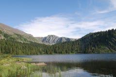 Karakol lake. Near Elekmonar village Royalty Free Stock Images