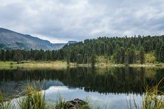 Karakol lakes Royaltyfri Foto