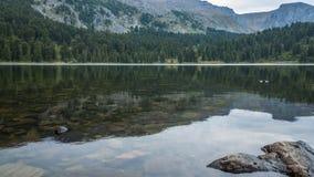 Karakol lakes arkivbild