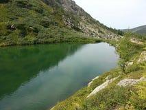 Karakol lakes in Altai Mountains 2014 Stock Image