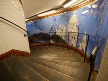 Karakol metro ksień stacja zdjęcia royalty free