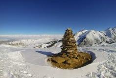 Karakol ski resort Stock Photography