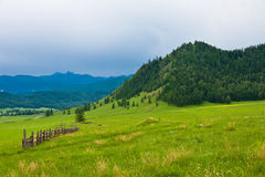 Karakol valley Stock Photography