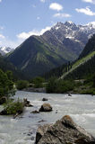 Karakol Valley Royalty Free Stock Photos