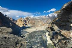 Karakoram-Berg Stockfoto