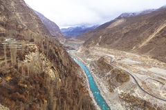 Karakoram Highway in Kasmir, Pakistan Stock Photography