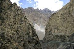 Karakoram Highway Royalty Free Stock Photo