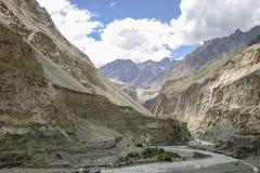 Karakoram huvudväg Royaltyfria Foton