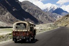 Karakoram huvudvägväg, Pakistan Royaltyfri Bild