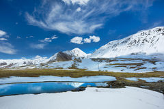 Karakoram-Landstraße Pakistan Lizenzfreie Stockfotos