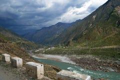 Karakoram mountain range Royalty Free Stock Photography