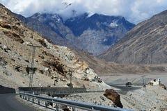 Karakoram mountain range Royalty Free Stock Image