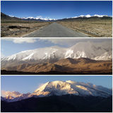 Karakoram mountains in china Stock Image