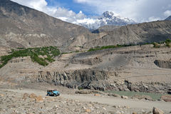 Karakoram pasmo górskie Fotografia Royalty Free