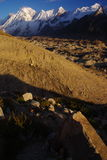Karakoram peaks III. Karakoram peaks, who is possible to see by the way of biafo hispar trek Royalty Free Stock Images