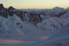 Karakoram range. View of karakoram range by the way to workman peak Stock Photos