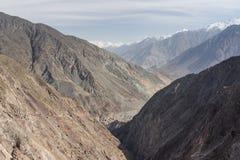 Karakorum góry krajobraz, Chilas, Gilgit Baltistan, Pakistan Zdjęcie Stock