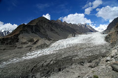 Karakorum glacier Royalty Free Stock Images
