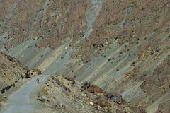 Karakorum highway. Northern Pakistan. Karakorum highway. Autumn season in Northern Pakistan Stock Photos