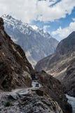 Karakorum Highway in Pakistan Royalty Free Stock Images