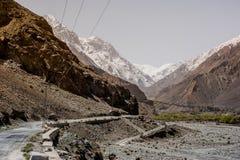 Karakorum Highway in Pakistan Royalty Free Stock Photography