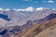 Karakorum Range mountains in Himalayas Royalty Free Stock Image
