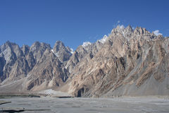Karakorum Range Pakistan Royalty Free Stock Photos