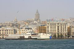 Karakoy Ferry Port Royalty Free Stock Photos