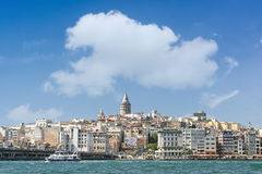 Karakoy okręg, Istanbuł, Turcja Obraz Stock