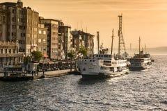 Karakoy Pier, Istanbul Royalty Free Stock Image