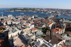 Karakoy and Topkapi Palace in Istanbul City Royalty Free Stock Photo