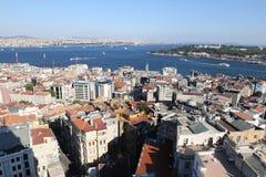 Karakoy and Topkapi Palace in Istanbul City Stock Photo