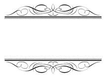 karaktärsteckning för calligraphyrampenmanship Royaltyfri Bild