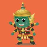 Karakter Ravana Stock Foto's