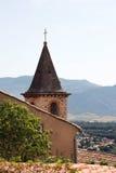 Karakterhuis in het dorp van de Provence Royalty-vrije Stock Afbeeldingen