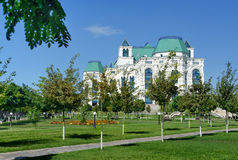Karakułowa stan opera i Baletniczy teatr Fotografia Royalty Free