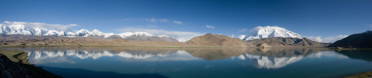 Karakul Lake, China royalty free stock image