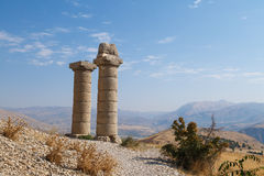 Karakus Tumulusu in Nemrut National Park Royalty Free Stock Image