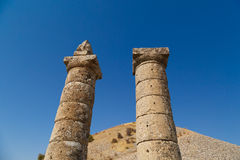 Karakus Tumulusu in Nemrut National Park Royalty Free Stock Photos