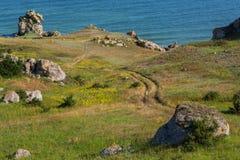 Karalar regional landscape park in Crimea. Stock Photo