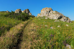 Karalar regional landscape park in Crimea. Stock Photos