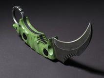 Karambit del cuchillo Imágenes de archivo libres de regalías