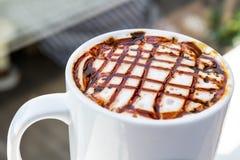 Karamel Latte Royalty-vrije Stock Afbeeldingen