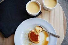 Karamelcake Stock Foto