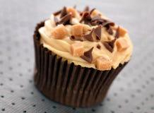 Karamell-kleiner Kuchen lizenzfreie stockbilder