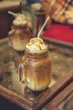 Karamell Latte Lizenzfreies Stockfoto